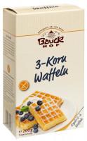 3-Korn Waffeln - glutenfrei