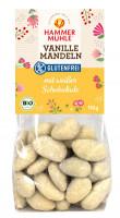 Bio Vanille Mandeln in weißer Schokolade - glutenfrei