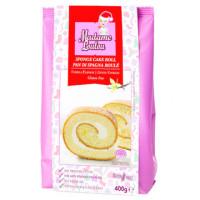 Backmischung für Biskuitrolle mit Vanille - glutenfrei