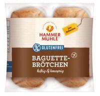Baguettebrötchen luftig & knusprig - glutenfrei