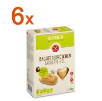 Sparpaket 6 x Baguettebrötchen - glutenfrei