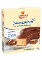 Baumkuchen in Vollmilchschokolade - glutenfrei