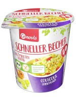 Schneller Becher Couscous orientalisch - glutenfrei