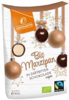 Bio Marzipan in Zartbitterschokolade - glutenfrei