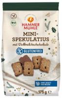 Bio Mini-Spekulatius mit Vollmilchschokolade - glutenfrei