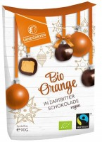 Bio Orange in Zartbitterschokolade - glutenfrei