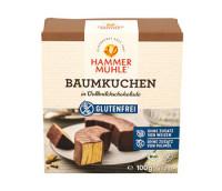 Bio Baumkuchen in Vollmilchschokolade - glutenfrei