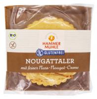 Bio Nougattaler mit feiner Nuss-Nougat-Creme - glutenfrei