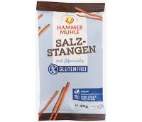 Bio Salzstangen mit Meersalz - glutenfrei