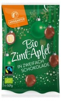 Bio Zimt-Apfel in zweifach Schokolade - glutenfrei