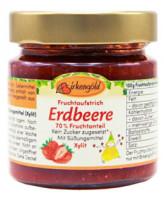 Fruchtaufstrich Erdbeere ohne Zuckerzusatz - glutenfrei