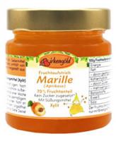 Fruchtaufstrich Marille Aprikose ohne Zuckerzusatz - glutenfrei