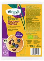 Bio Blaubeer Muffins - glutenfrei