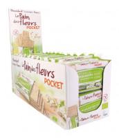 Blumenbrot Pocket Buchweizen - glutenfrei