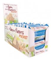Blumenbrot Pocket Buchweizen ohne Zusatz von Salz - glutenfrei