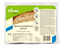 Brown Farmhouse Bread - glutenfrei