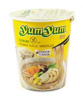 Instant Brown Rice Noodles Huhngeschmack - glutenfrei
