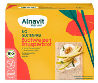 Bio Buchweizen Knusperbrot - glutenfrei