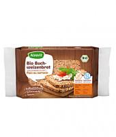 Bio Buchweizenbrot mit Sesam - glutenfrei