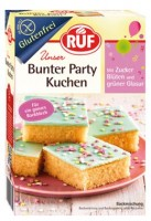 Bunter Party Kuchen - glutenfrei