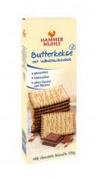 Butterkekse mit Vollmilchschokolade - glutenfrei