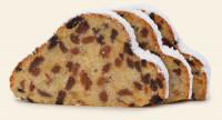 "Butterstollen ""Erzgebirg'sche Art"" geschnitten frisch gebacken - glutenfrei"