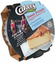 Sweet Protein Himbeer-Quarkkuchen ohne Zuckerzusatz - glutenfrei
