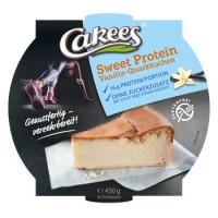 Sweet Protein Vanille-Quarkkuchen - glutenfrei