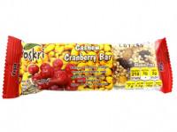 Cashew-Cranberry Riegel - glutenfrei