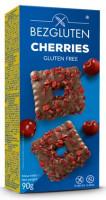 Cherries Kekse in belgischer Schokolade - glutenfrei