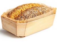 Bio Chia-Lupinen Brot frisch gebacken - glutenfrei