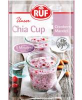 Chia Cup Cranberry Mandel - glutenfrei