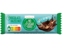 No Sugar Added Chocolate Hazelnut Riegel - glutenfrei