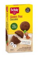 Cioccolini Kekse mit Haselnusscremefüllung - glutenfrei