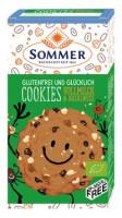 Bio Cookies Vollmilch & Haselnuss - glutenfrei