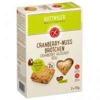 Cranberry-Nuss Brötchen - glutenfrei