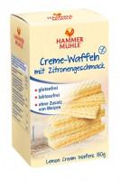 Zitronen-Creme Waffeln - glutenfrei