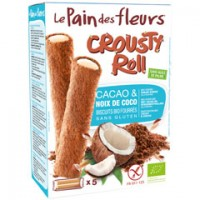 Crousty Roll Kekse Kakao-Kokos - glutenfrei