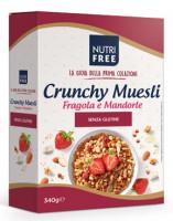 Crunchy Muesli Fragola e Mandorle - glutenfrei