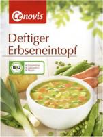 Deftiger Erbseneintopf - glutenfrei