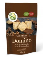 Domino Vollkornkekse mit Milchschokolade - glutenfrei