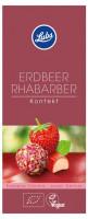 Erdbeer-Rhabarber Konfekt - glutenfrei