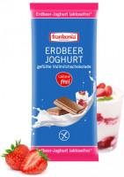 Erdbeer-Joghurt gefüllte Vollmilchschokolade laktosefrei - glutenfrei