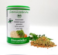 Bio Gemüsebrühe histaminfrei - glutenfrei