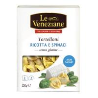 Le Veneziane Tortellini mit Ricotta & Spinat - glutenfrei