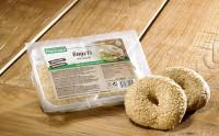 Glutenfreie Bagels mit Sesam - glutenfrei