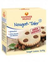 Nougat-Taler - glutenfrei