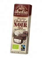 Bio Kokos Pralinen mit Zartbitterschokolade - glutenfrei