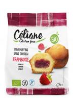 Mini-Himbeer-Muffins - glutenfrei