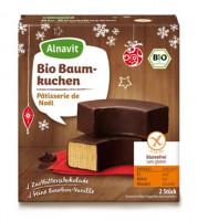 Bio Baumkuchen mit Zartbitterschokolade - glutenfrei